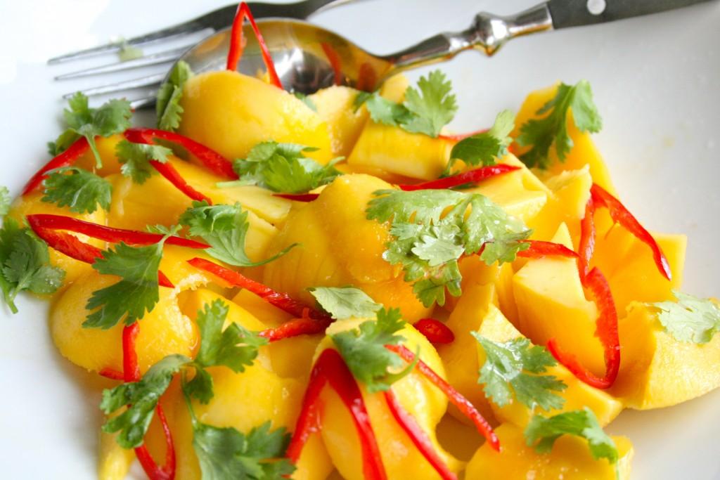 Salat mango koriander