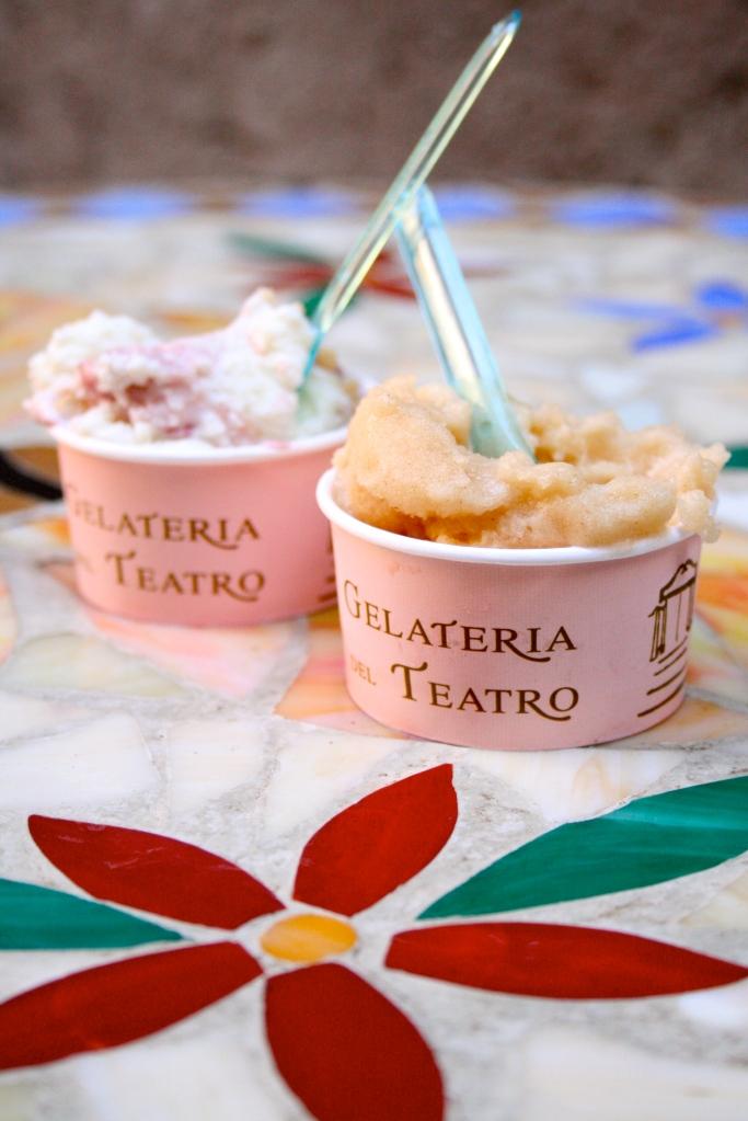 Her spiste vi den aller beste isen. Ligger ikke langt fra Piazza Navona.