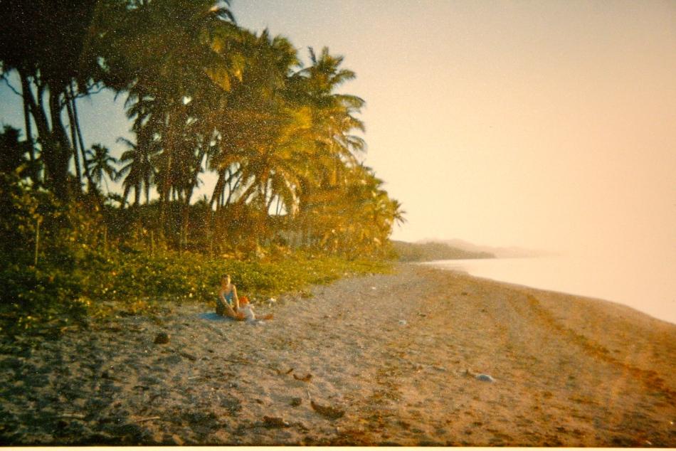 Soloppgang i Oceania.