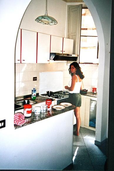 På kjøkkenet, da som nå.