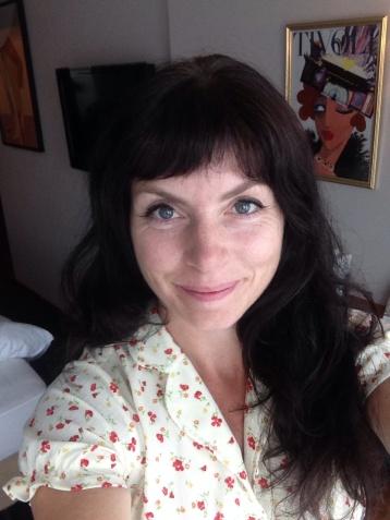 Hotellrom-selfie, dag 3.