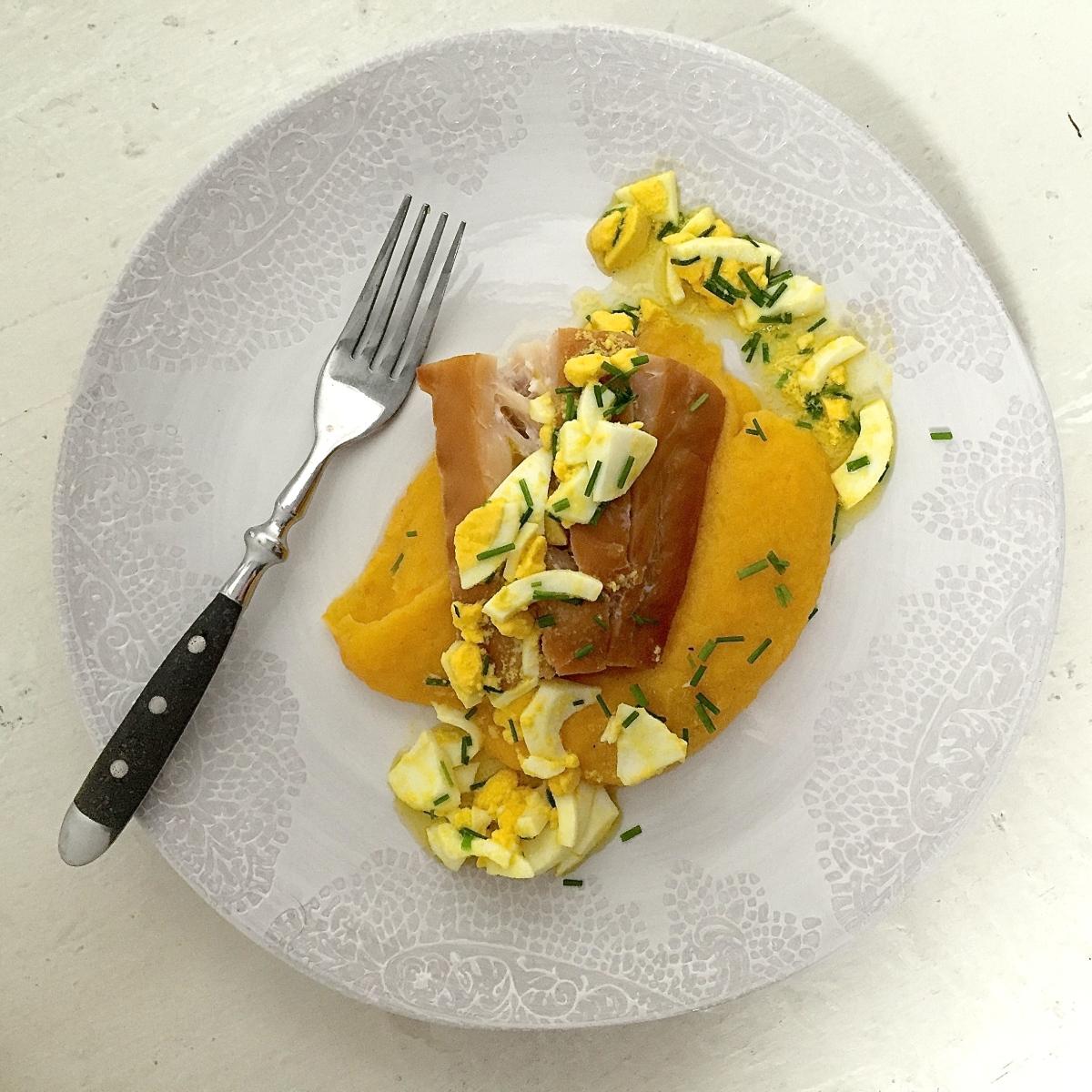 torsk med eggesmor