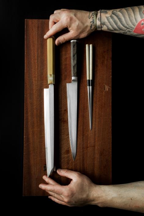 Kanskje det viktigste? En god kniv!